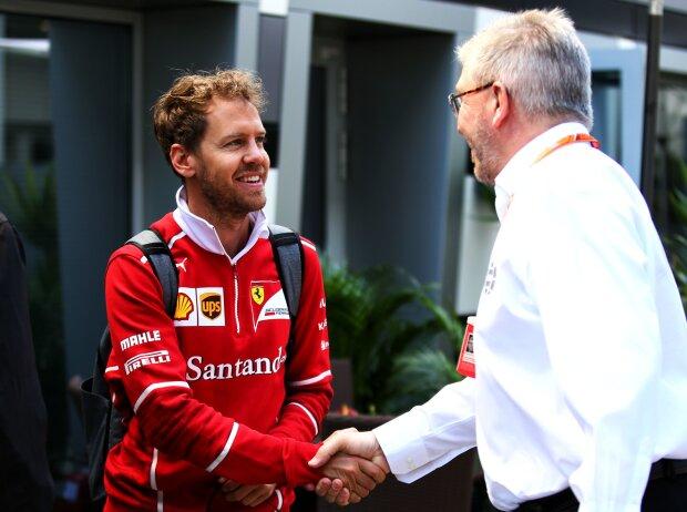 Sebastian Vettel, Ross Brawn