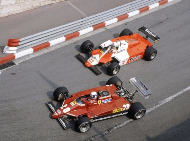 Andrea de Cesaris, Didier Pironi