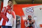 Casey Stoner und Andrea Dovizioso (Ducati)