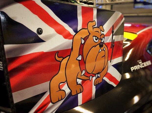 Bentley Continental GT3, Bulldogge, Talisman, Glücksbringer