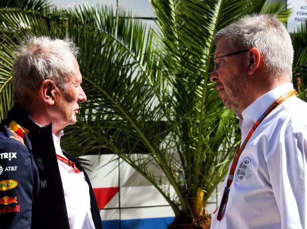 Helmut Marko, Bernie Ecclestone