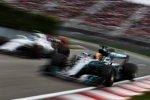 Lewis Hamilton (Mercedes) und Lance Stroll (Williams)
