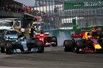 Max Verstappen (Red Bull), Valtteri Bottas (Mercedes) und Sebastian Vettel (Ferrari)