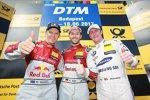 Rene Rast (Rosberg-Audi) und Maxime Martin (RBM-BMW)