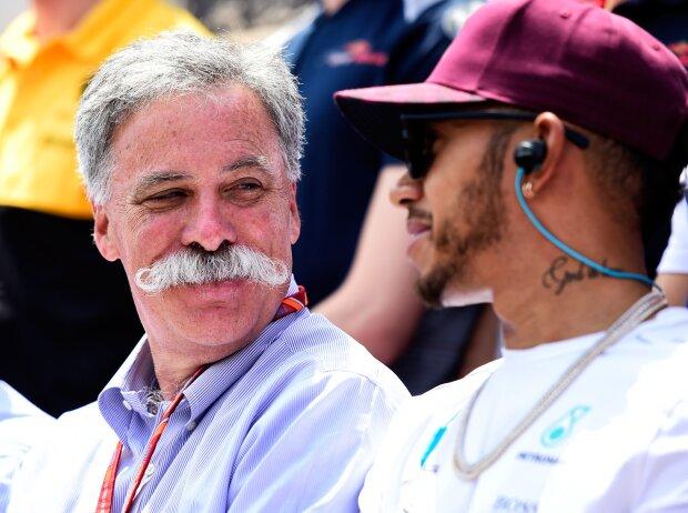 Lewis Hamilton, Chase Carey