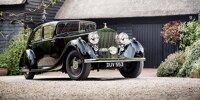 Der Rolls Royce Phantom III von Feldmarschall Montgomery