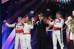 Alex Brundle, David Cheng, Jackie Chan und Ho-Pin Tung