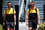 Jolyon Palmer (Renault) und Jack Clarke