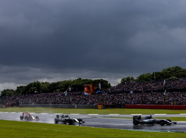Lewis Hamilton, Nico Rosberg, Max Verstappen
