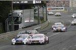 Maxime Martin (RBM-BMW) und Lucas Auer (HWA-Mercedes 3)