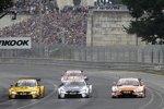 Timo Glock (RMG-BMW), Tom Blomqvist (RBM-BMW) und Jamie Green (Rosberg-Audi)