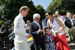 Nico Rosberg und Bernie Ecclestone