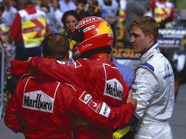 Michael Schumacher, Rubens Barrichello, Ralf Schumacher
