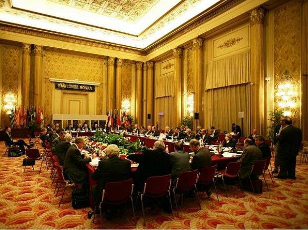 Treffen des FIA-Motorsport-Weltrats
