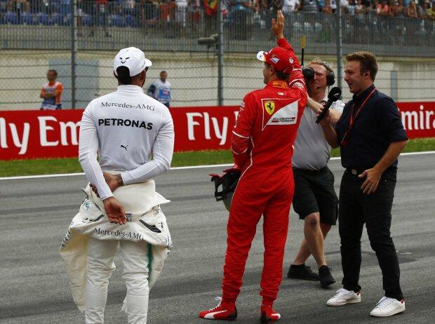Valtteri Bottas, Lewis Hamilton, Sebastian Vettel, Davide Valsecchi