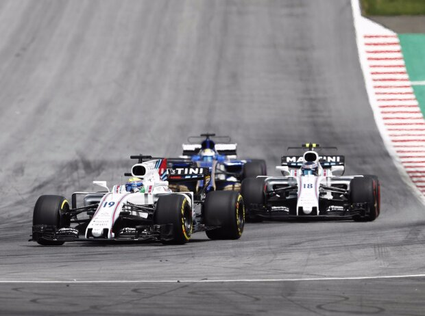 Felipe Massa, Lance Stroll, Marcus Ericsson