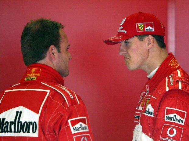 Rubens Barrichello, Michael Schumacher
