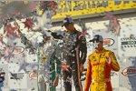 J.R. Hildebrand (Carpenter), Helio Castroneves (Penske) und Ryan Hunter-Reay (Andretti)