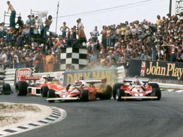 Clay Regazzoni und Niki Lauda