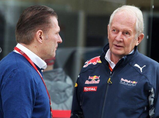 Jos Verstappen, Helmut Marko