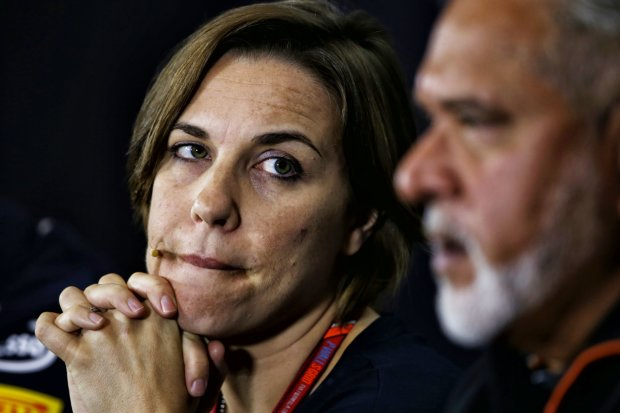 Claire Williams Vijay Mallya Force India Sahara Force India F1 Team F1Williams Williams Martini Racing F1 ~Claire Williams und Vijay Mallya ~