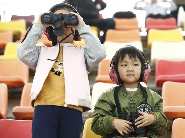 Kleine Fans in China