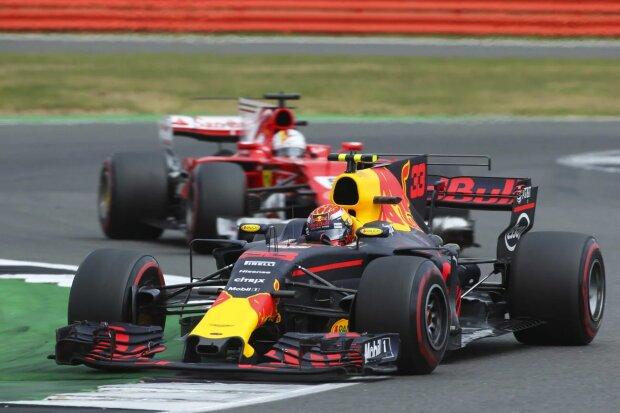 Max Verstappen Sebastian Vettel Ferrari Scuderia Ferrari F1Red Bull Red Bull Racing F1 ~Max Verstappen (Red Bull) und Sebastian Vettel (Ferrari) ~