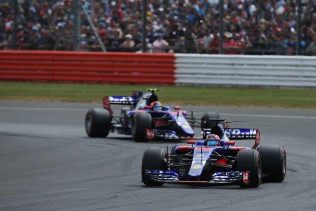 Daniil Kwjat Carlos Sainz Toro Rosso Scuderia Toro Rosso F1 ~Daniil Kwjat (Toro Rosso) und Carlos Sainz (Toro Rosso) ~