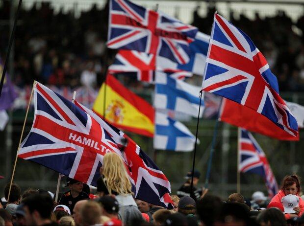 Flaggen in Silverstone