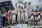 Neel Jani (Porsche), Nick Tandy (Porsche), Timo Bernhard (Porsche), Earl Bamber (Porsche), Mike Conway (Toyota) und Kamui Kobayashi (Toyota)