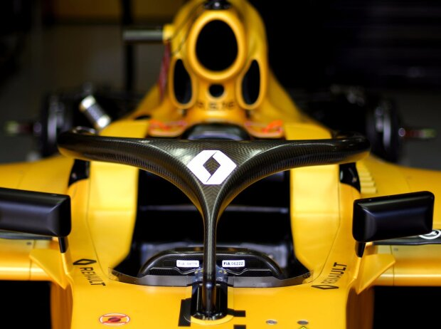 Halo-System am Renault