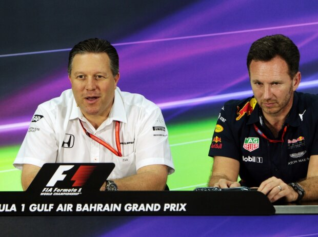 Claire Williams, Zak Brown, Christian Horner