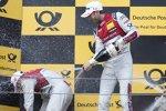 Mike Rockenfeller (Phoenix-Audi) und Rene Rast (Rosberg-Audi)