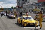 Timo Glock (RMG-BMW), Marco Wittmann (RMG-BMW) und Tom Blomqvist (RBM-BMW)