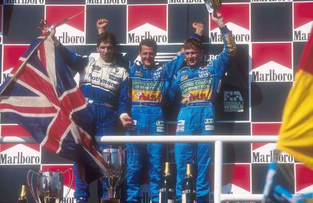 Michael Schumacher Jos Verstappen Williams Williams Martini Racing F1 ~Michael Schumacher und Jos Verstappen ~