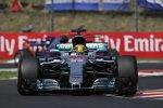 Lewis Hamilton (Mercedes) und Carlos Sainz (Toro Rosso)