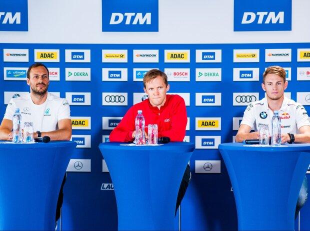 Gary Paffett, Mattias Ekström, Marco Wittmann