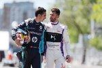 Sebastien Buemi (Renault e.dams) und  Jose-Maria Lopez (DS Virgin)