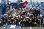Toyota feiert den Finnland-Sieg