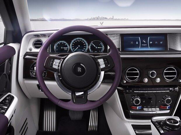 Cockpit des Rolls-Royce Phantom VIII 2018