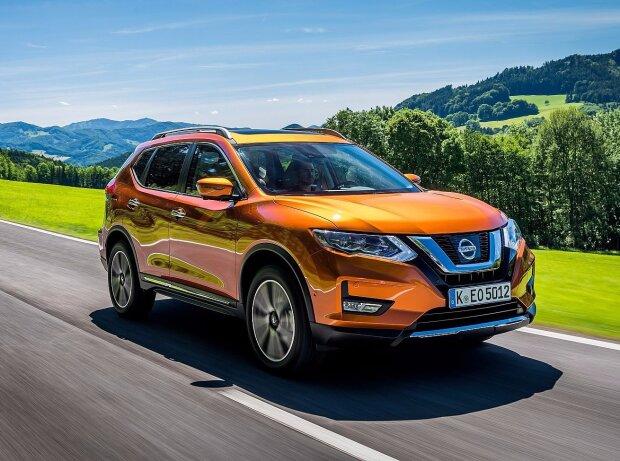nissan x-trail facelift 2018: infos zu preis, kofferraum, maße