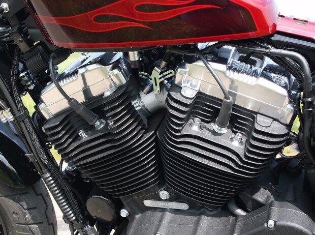 Motor der Harley-Davidson Sportster Forty-Eight