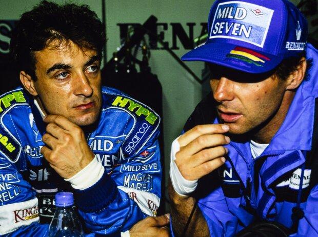 Jean Alesi, Gerhard Berger