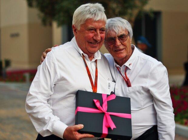 Bernie Ecclestone und Herbie Blash