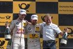 Marco Wittmann (RMG-BMW) und Timo Glock (RMG-BMW)