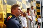 Max Verstappen und Marco Wittmann (RMG-BMW)