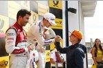 Marco Wittmann (RMG-BMW) und Max Verstappen