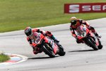 Marco Melandri & Chaz Davies (Ducati)