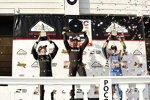Josef Newgarden (Penske), Will Power (Penske) und Alexander Rossi (Andretti)