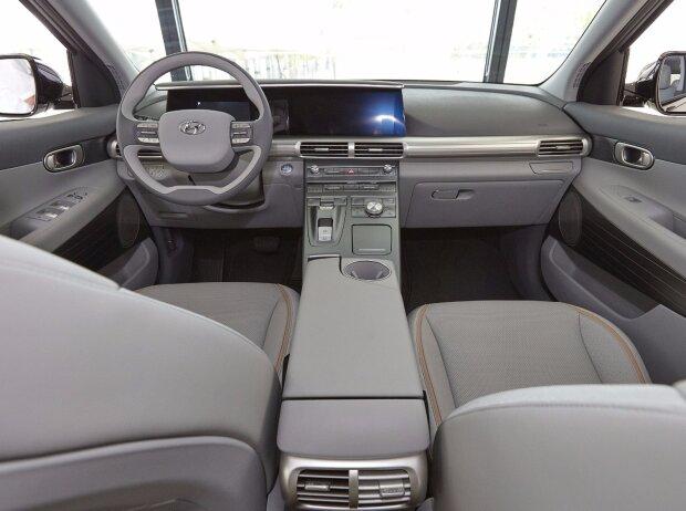 Innenraum des Hyundai FCEV 2018